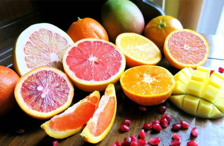 Citrus fruits for hair loss