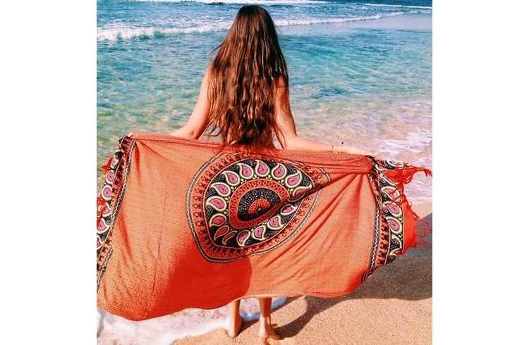 Colourful sarong for women