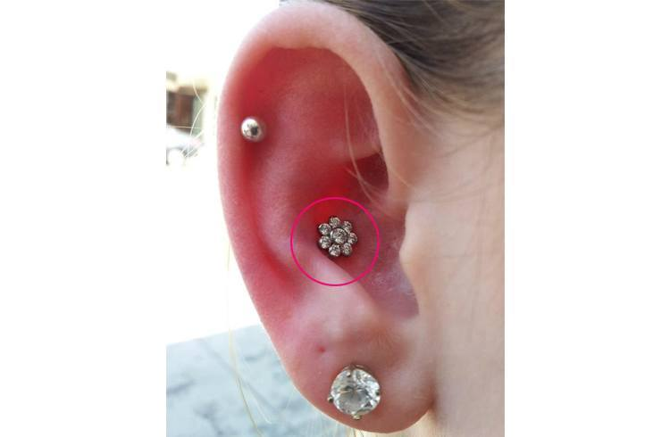 Conch Ear Piercing