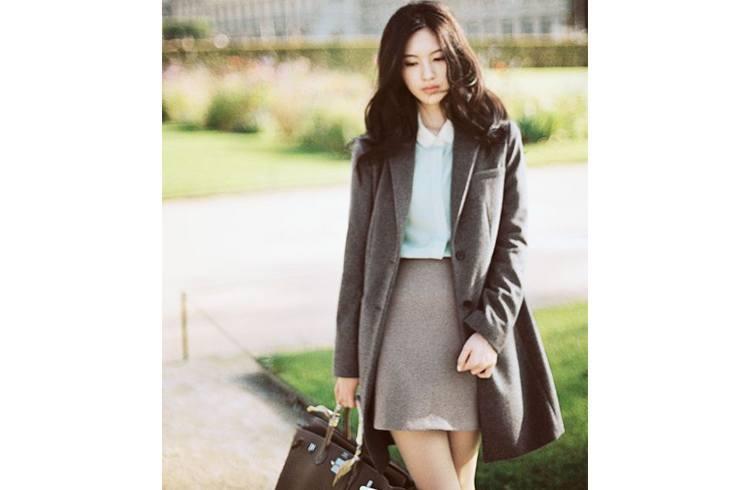 Corporate woman fashion