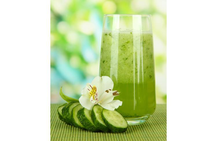 Cucumber juice for hair fall