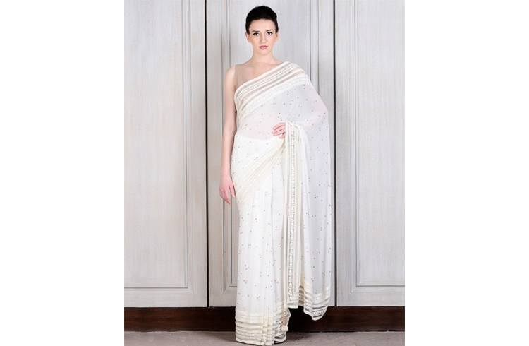 Designer saree by Manish