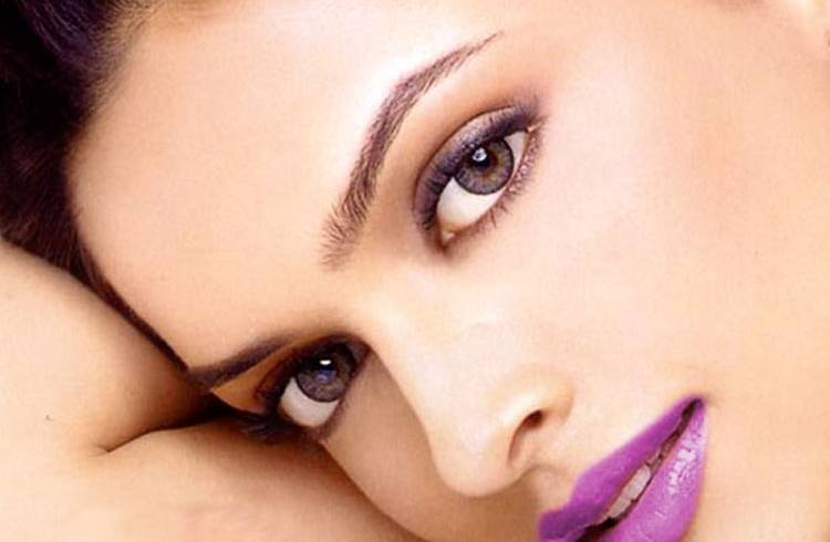 Eye makeup of Deepika