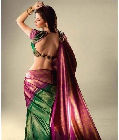 Fabrics backless blouse