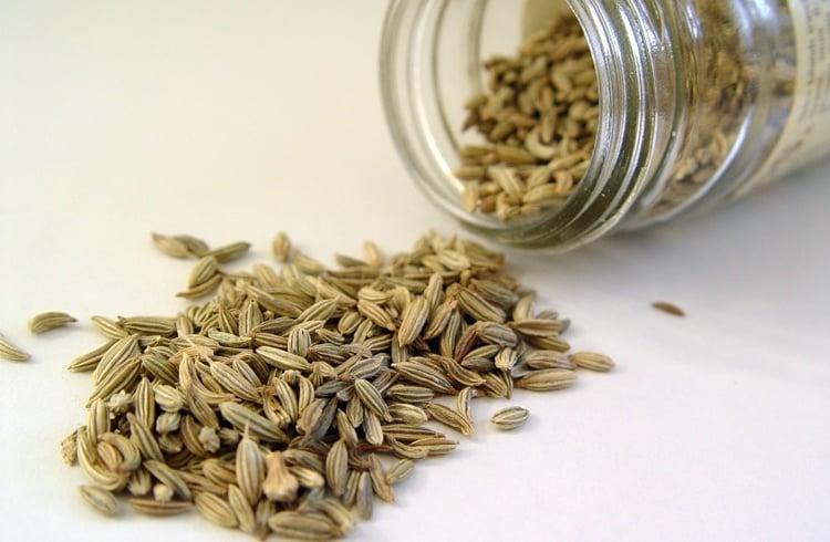 Fennel seeds to detox