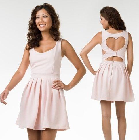 Flirty Cut out dress