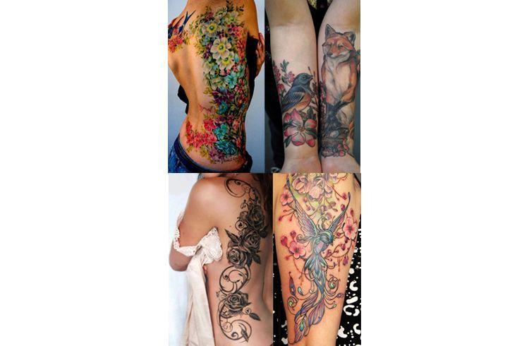 Floral tattoo designs in Summer