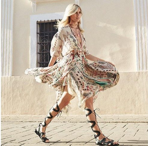 Frocks and sandals