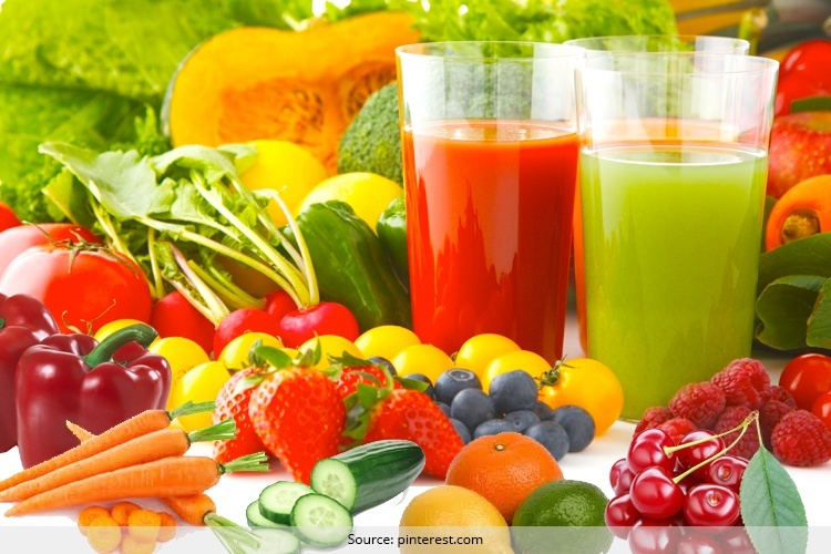 Juices that Fight Hair Fall