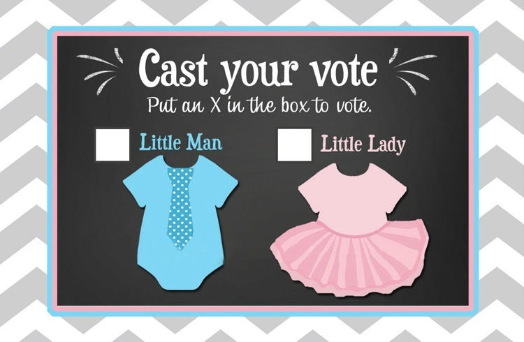 Gender Reveal Vote