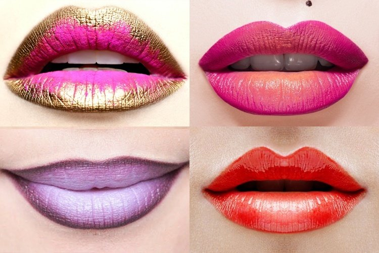 Getting Ombre Lips