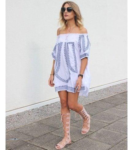 Gladiator for white dress