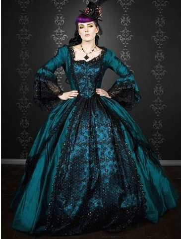 Gothic vintage gown