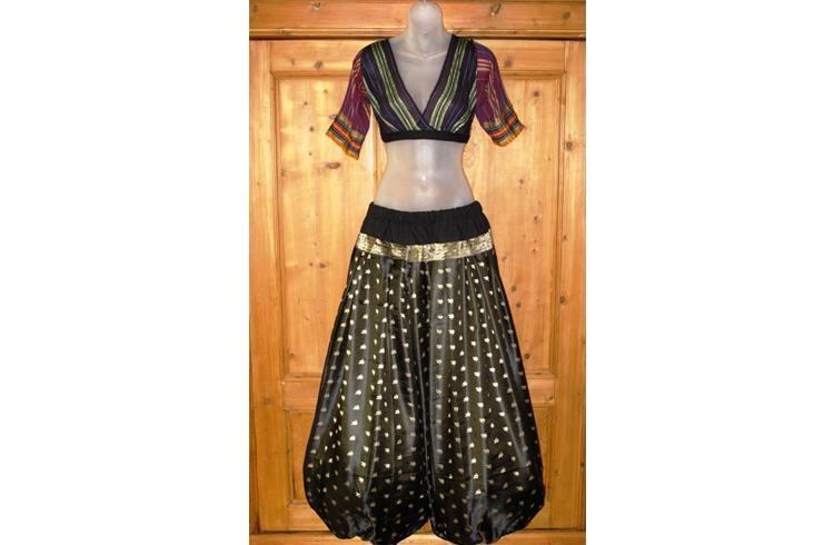Gypsy choli blouse look