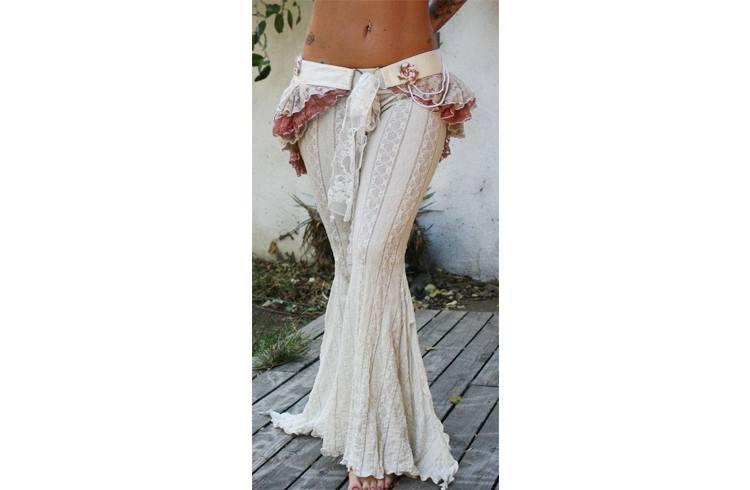 Gypsy fashion for wedding