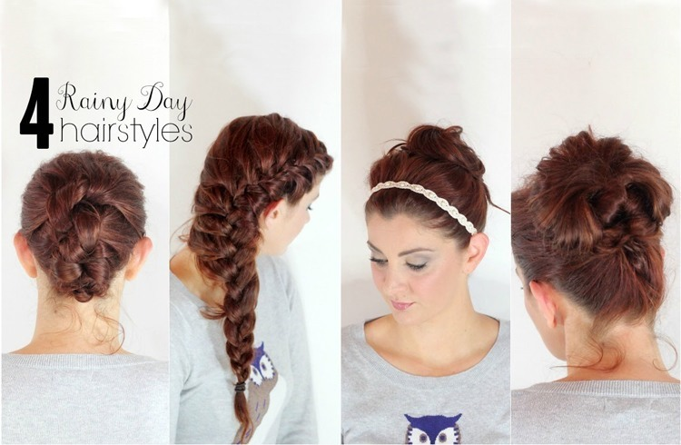 Hairstyles for monsoon