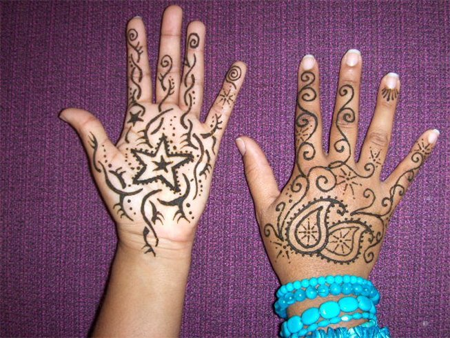 Henna Designs for Hands for Kids