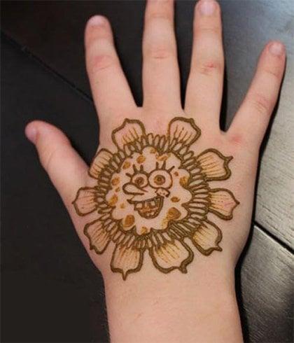Funny Henna Mehndi for Kids