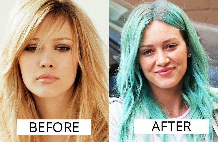 Hilary Duff  hair color