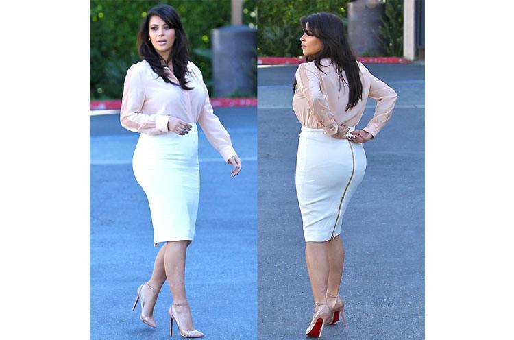 how to style a pencil skirt plus size
