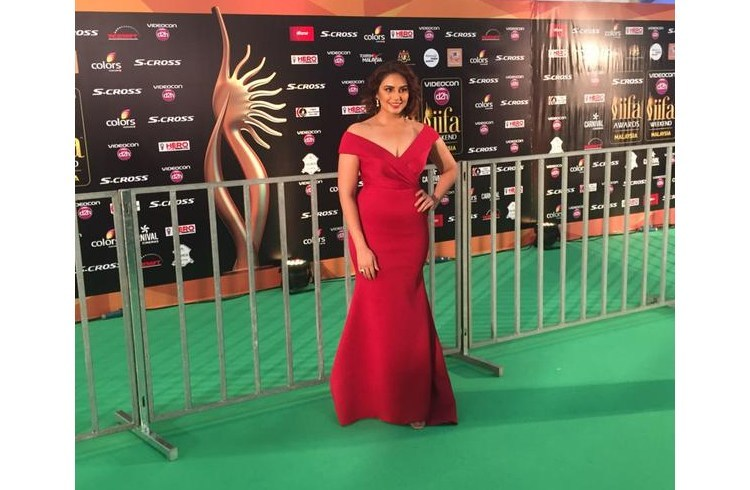 Huma Qureshi at IIFA 2015 Awards