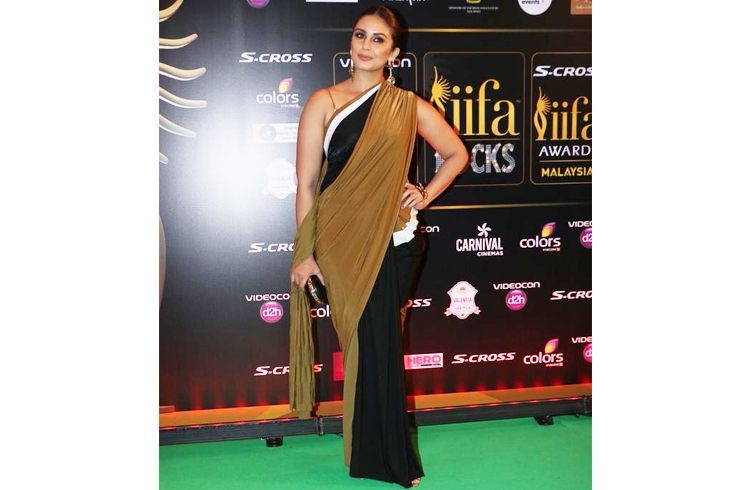 Huma Qureshi IIFA Green Carpet