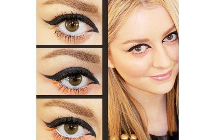 Inner corners eyeliner