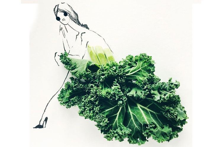 kale dress fashion inspiration