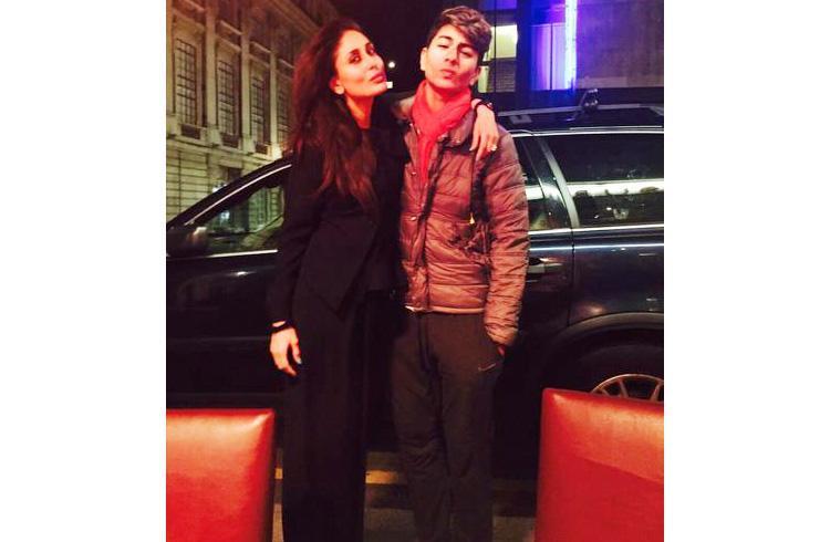 Kareena Kapoor with step son Ibrahim