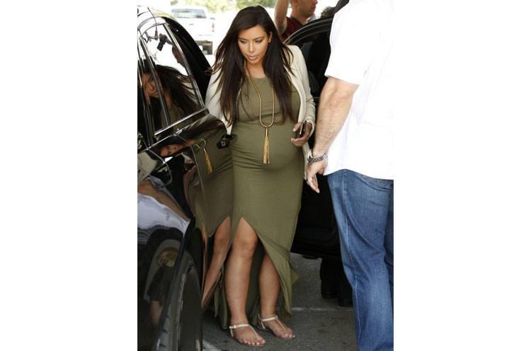 kim kardashian pregnancy style tips