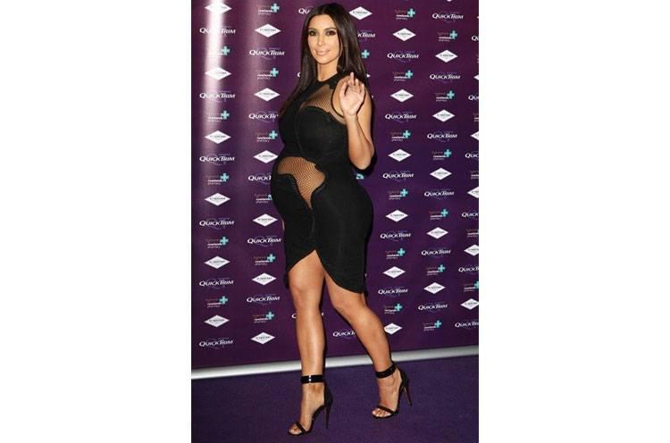 kim kardashian pregnancy weight loss