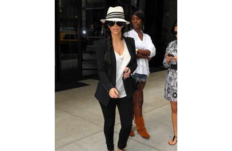 Kim summer look