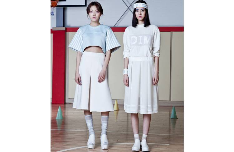 Korean kneelenght skirts