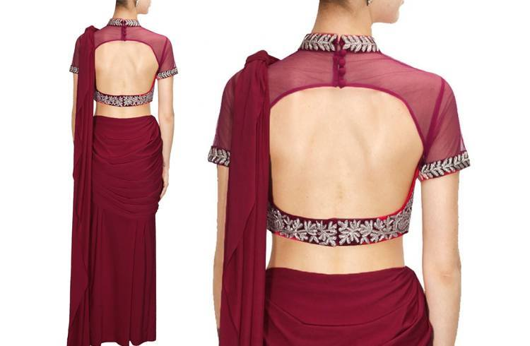Images Of Backless Blouse 67