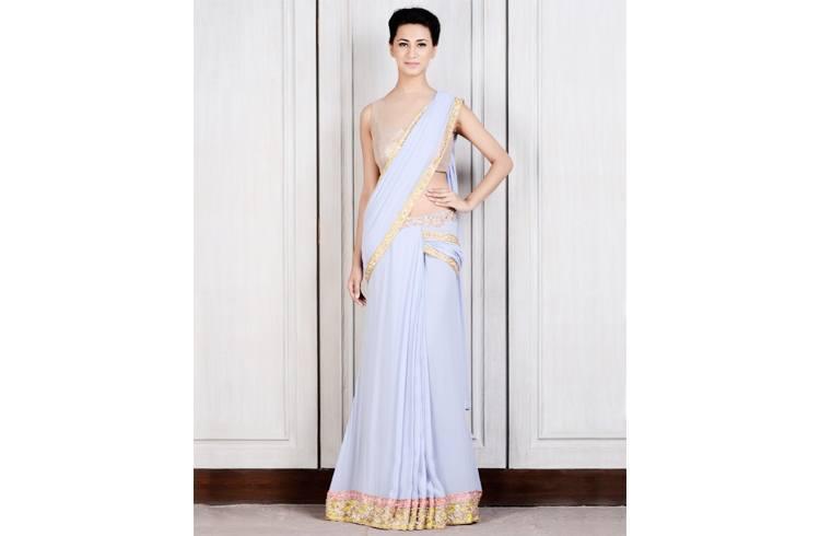 Manish Malhotra designer saree