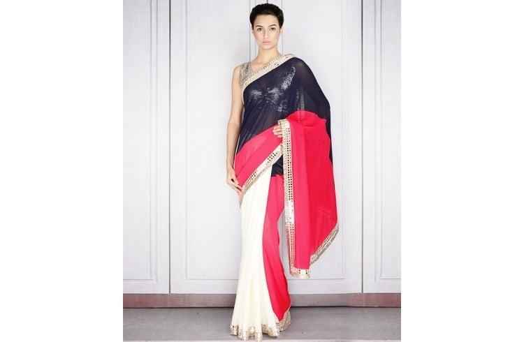Manish Malhotra saree design