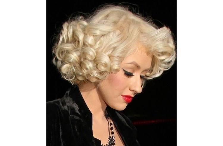 Marilyn Monroe's bob ringlets