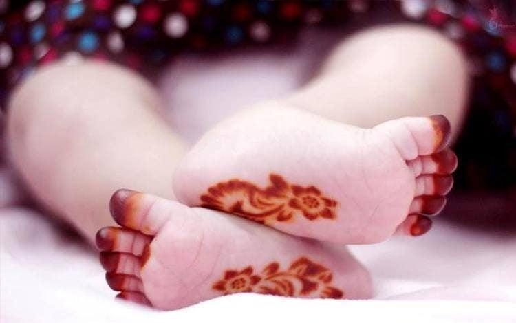 Mehendi Designs For Kids