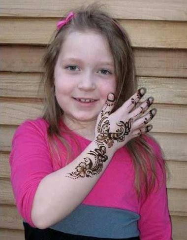 mehndi design for girls