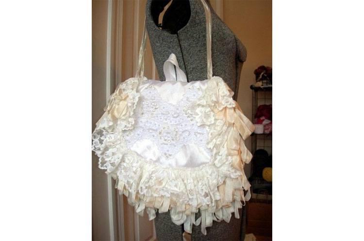 miranda vintage lace bridal bag