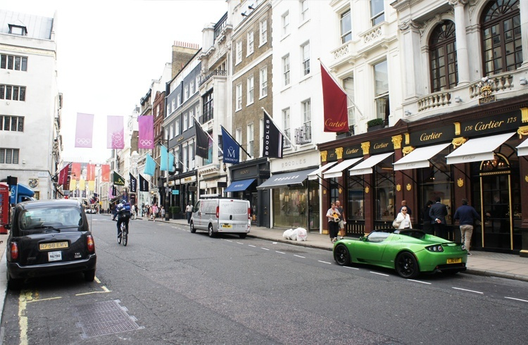 Old Bond Street for shopping