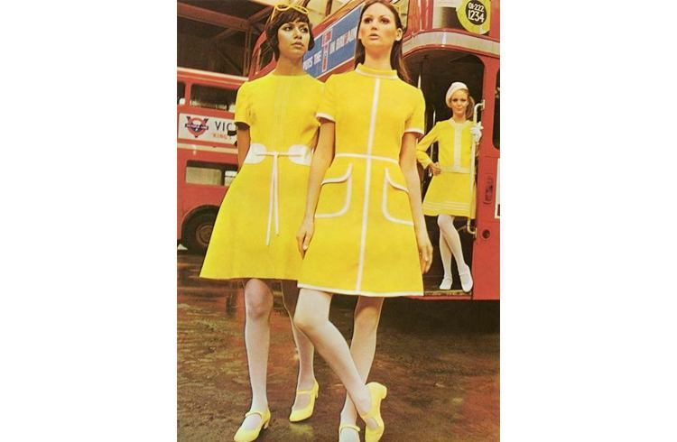 Pictures of sixties dress style
