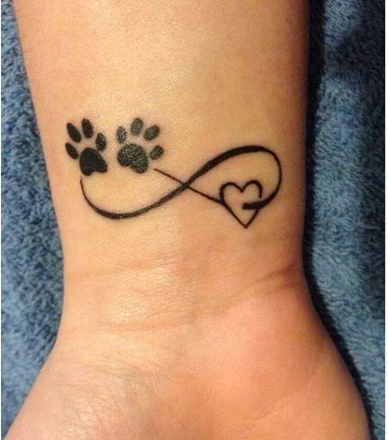 Paw and Heart Design