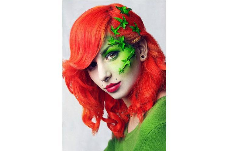Poison Ivy Make-up Tipps - Spinsters Party wild gegangen