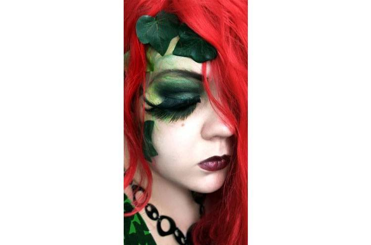 poison ivy makeup ideas