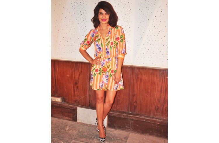 Priyanka Chopra in summer dresses