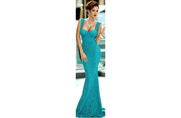 prom lace dresses 2015