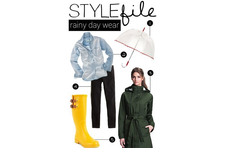 Rainy day wear