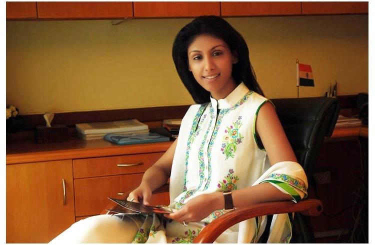 Billionaire daughter Roshni Nadar