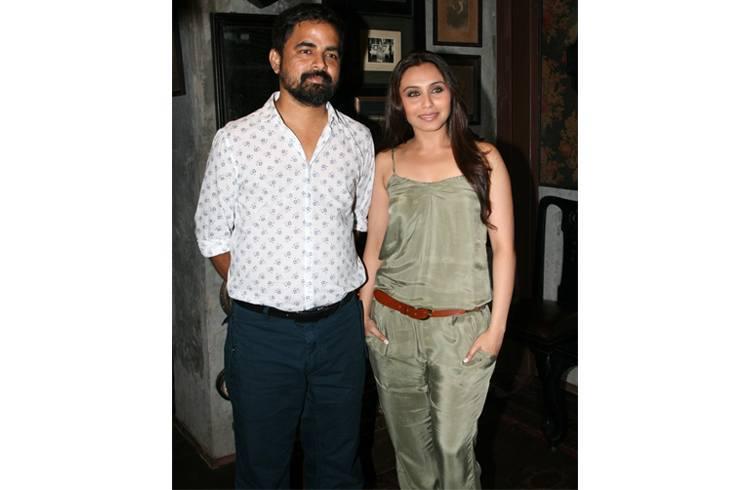 Sabyasachi and Rani Mukherjee